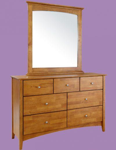 furniture, bedroom, mirror, cupboard