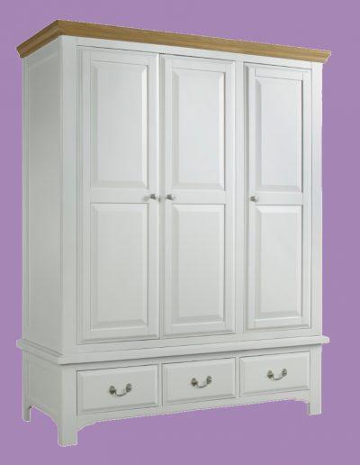 triple, furniture, bedroom, doors, cupboard