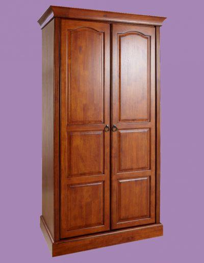 furniture, bedroom, doors, cupboard, double
