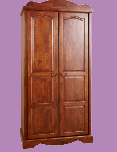 2 door, double, door, brown, cupboard