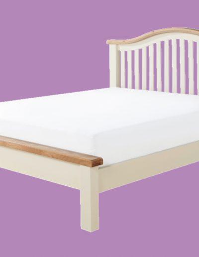 wood, white, brown, mattress